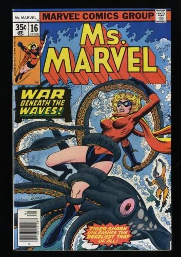 Ms. Marvel #16 VF 8.0 1st app. Mystique!