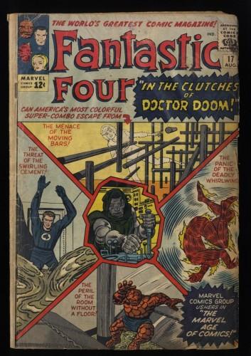 Fantastic Four #17 Fair 1.0