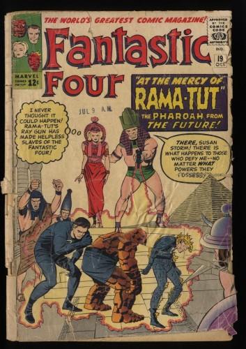 Fantastic Four #19 P 0.5