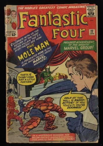 Fantastic Four #22 Low Grade Complete!