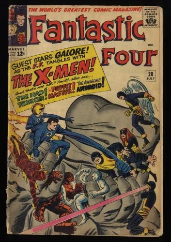 Fantastic Four #28 FA/GD 1.5