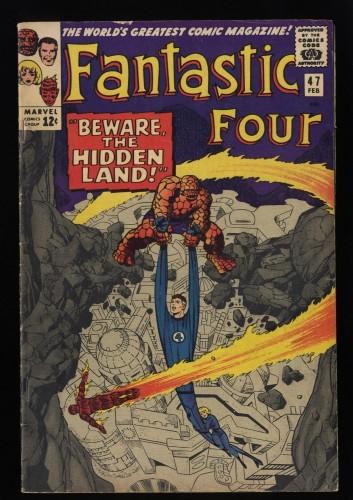 Fantastic Four #47 VG/FN 5.0