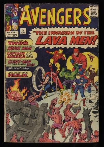 Avengers #5 GD 2.0