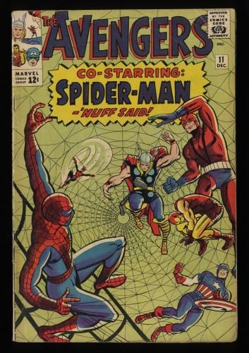 Avengers #11 VG- 3.5