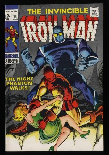 Iron Man #14 VF+ 8.5 1st Night Phantom!