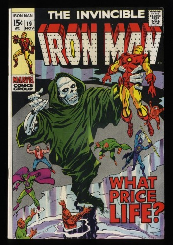 Iron Man #19 VF 8.0