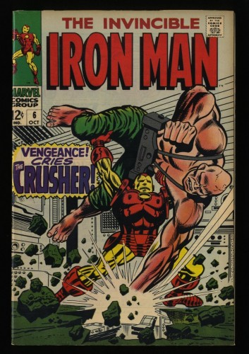 Iron Man #6 VF- 7.5