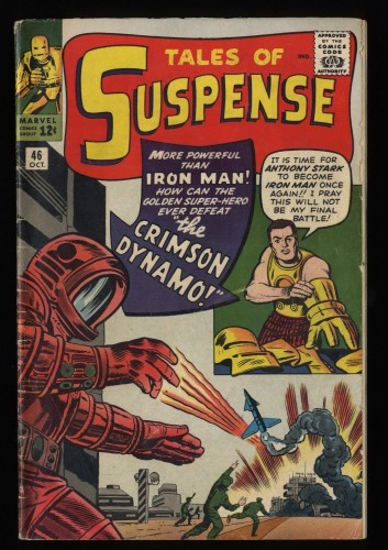 Tales Of Suspense #46 GD/VG 3.0 1st Crimson Dynamo!