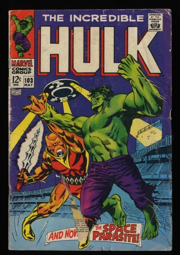 Incredible Hulk (1968) #103 GD 2.0