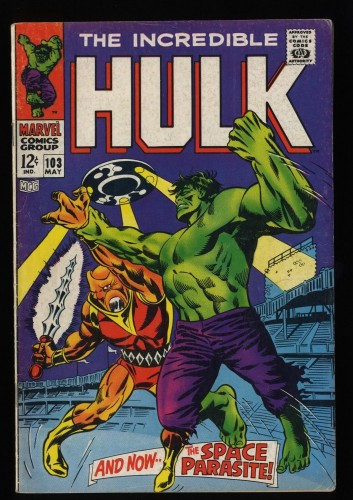 Incredible Hulk (1968) #103 VG 4.0