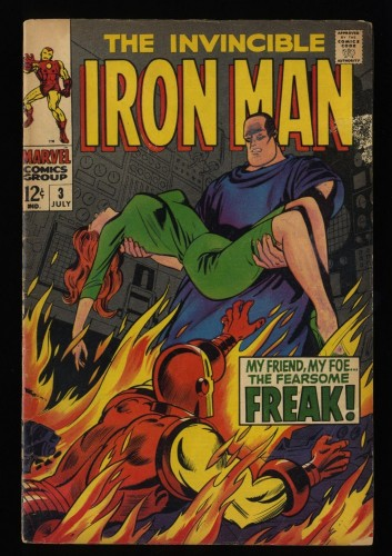 Iron Man #3 GD+ 2.5