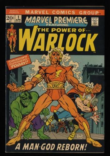Marvel Premiere #1 FN/VF 7.0 1st Adam Warlock!