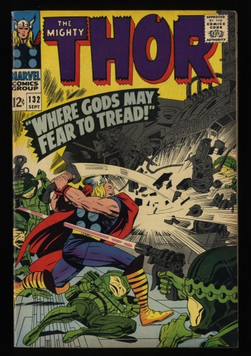 Thor #132 VF 8.0 Marvel Comics