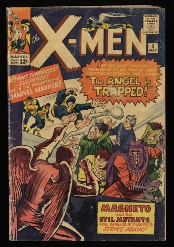 X-Men #5 FA/GD 1.5