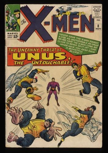 X-Men #8 VG- 3.5