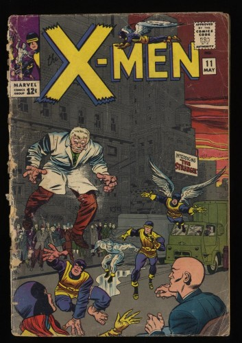 X-Men #11 Fair 1.0