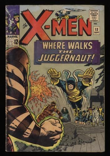 X-Men #13 GD 2.0 2nd Juggernaut!