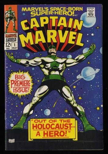 Captain Marvel #1 VG- 3.5