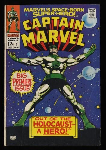 Captain Marvel #1 GD/VG 3.0