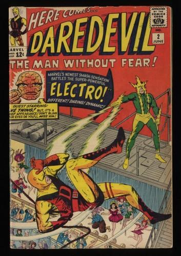 Daredevil #2 GD 2.0 2nd Electro!
