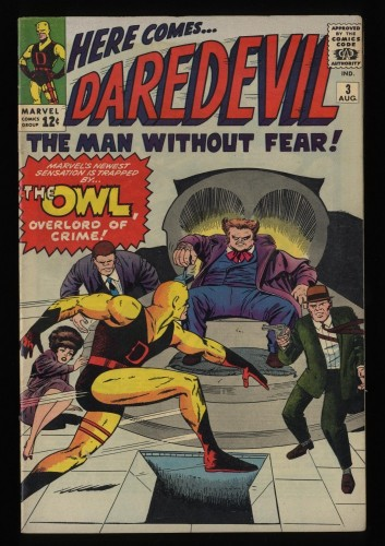 Daredevil #3 FN 6.0 1st Owl!