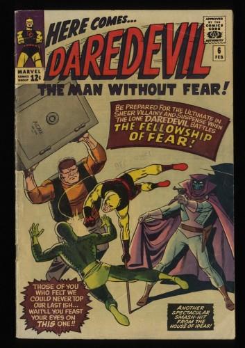 Daredevil #6 VG 4.0