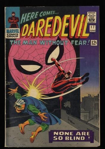 Daredevil #17 VG/FN 5.0 Spider-Man appearance!