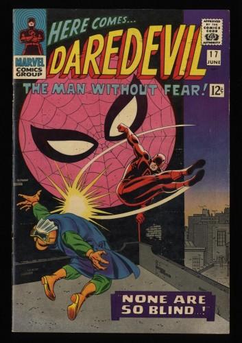 Daredevil #17 FN+ 6.5 Spider-Man appearance!