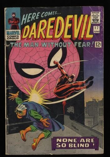 Daredevil #17 GD+ 2.5 Spider-Man Appearance!