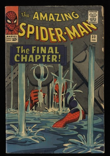 Amazing Spider-Man #33 VG+ 4.5