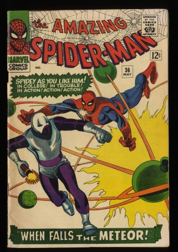 Amazing Spider-Man #36 VG/FN 5.0 White Pages