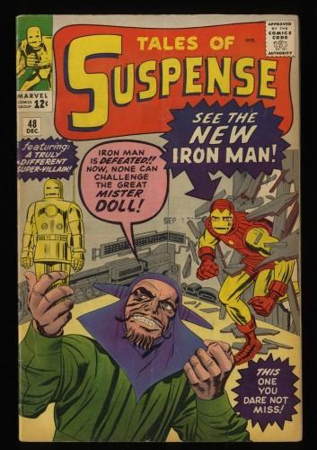 Tales Of Suspense #48 VG+ 4.5 New Iron Man Armor!