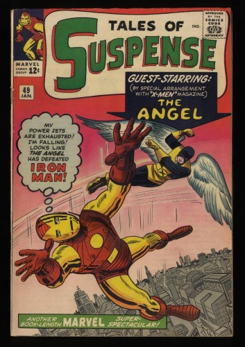 Tales Of Suspense #49 FN- 5.5 1st X-Men Crossover!