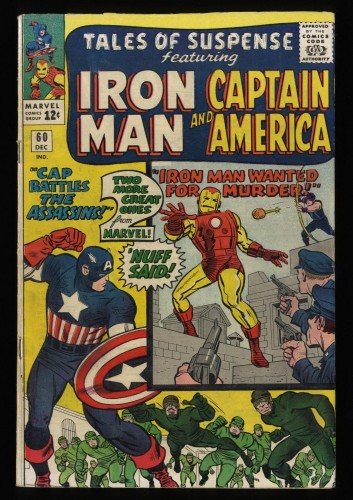 Tales Of Suspense #60 VG+ 4.5 2nd Hawkeye!