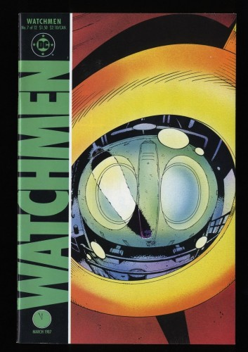 Watchmen #7 VF 8.0 White Pages