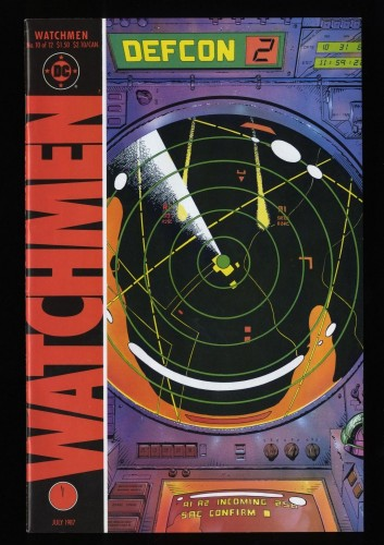 Watchmen #10 VF- 7.5 White Pages