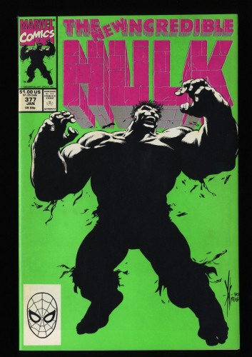 Incredible Hulk (1968) #377 VF/NM 9.0 1st Professor Hulk with Tiger Insert!
