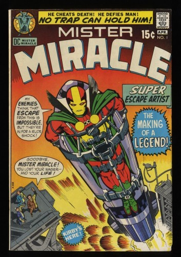 Mister Miracle #1 FN/VF 7.0 White Pages