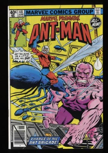 Marvel Premiere #48 VF+ 8.5 Comics Ant Man!