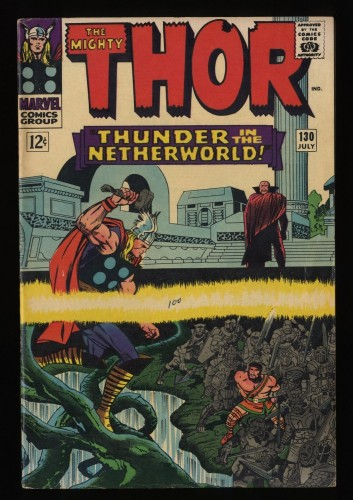 Thor #130 VG/FN 5.0 Marvel Comics