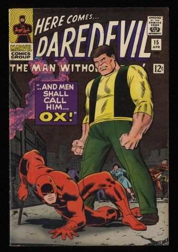 Daredevil #15 FN- 5.5 Marvel Comics
