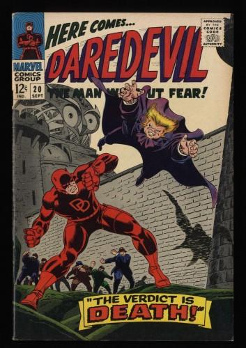Daredevil #20 FN/VF 7.0 Marvel Comics Owl!
