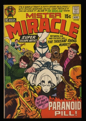 Mister Miracle #3 VF 8.0 DC Comics