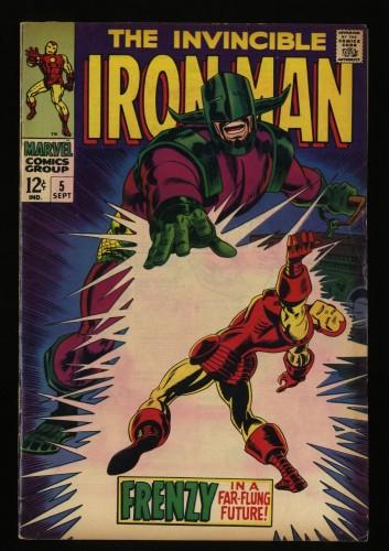 Iron Man #5 FN 6.0 Marvel Comics
