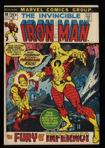 Iron Man #48 VF+ 8.5 Marvel Comics