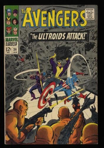 Avengers #36 VF 8.0 Marvel Comics Thor Captain America