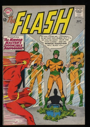 Flash #136 FN 6.0 DC Comics