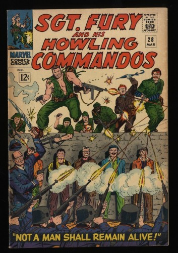 Sgt. Fury and His Howling Commandos #28 FN/VF 7.0 Marvel Comics