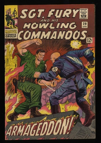 Sgt. Fury and His Howling Commandos #29 FN/VF 7.0 Marvel Comics