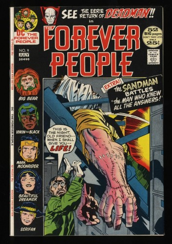 Forever People #9 NM- 9.2